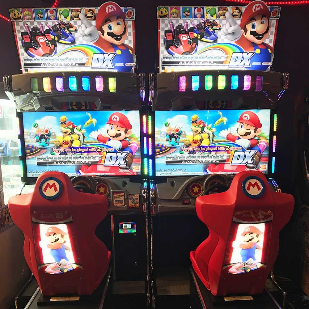Mario Kart Race Arcade Game